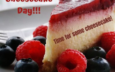 Time for Cheesecake on July 30!