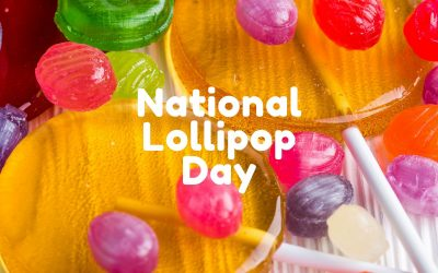 National Lollipop Day is July 20!