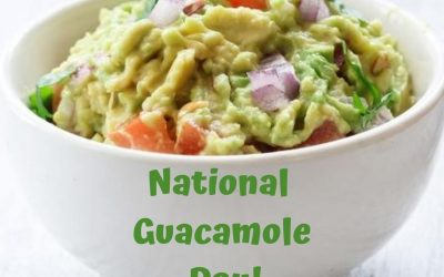 Celebrate National Guacamole Day on September 16!
