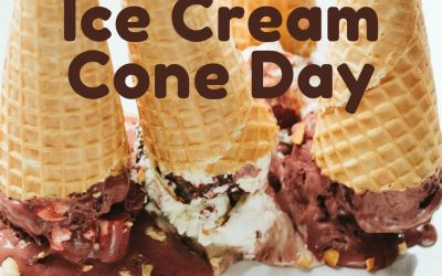National Ice Cream Cone Day! (Sept. 22)