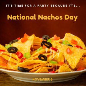 Time for Nachos! (Nov. 6)