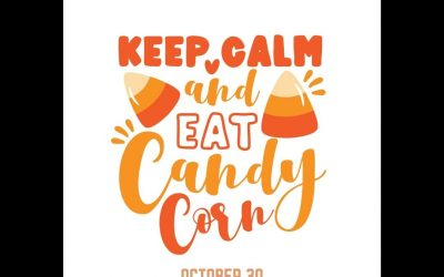 October 30 is National Candy Corn Day!