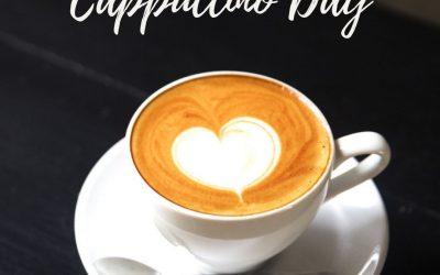 National Cappuccino Day – Nov. 8