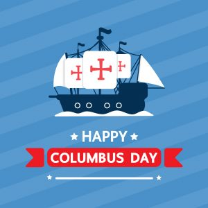 October 12 is Columbus Day!