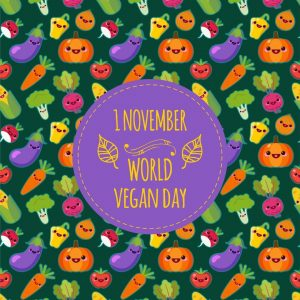 World Vegan Day is Nov. 1