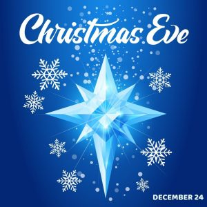 December 24 is Christmas Eve!!