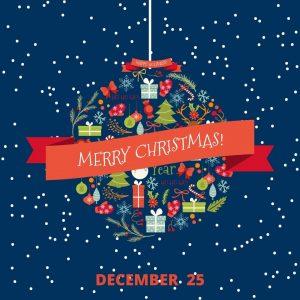 December 25 – Christmas 2020!