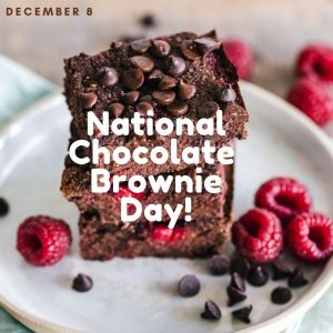 Have a Brownie on Dec. 8!