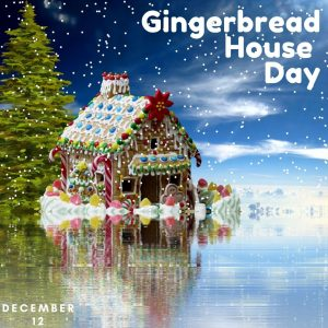 Let's Make a Gingerbread House on Dec. 12!
