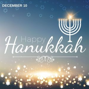 Happy Hanukkah! (December 10)