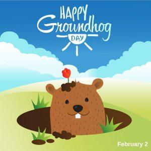 Groundhog Day 2021! (Feb. 2)