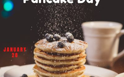 Let's Have Some Blueberry Pancakes on Jan. 28!
