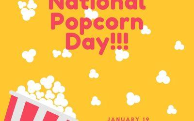 Let's Pop Some Popcorn on January 19!