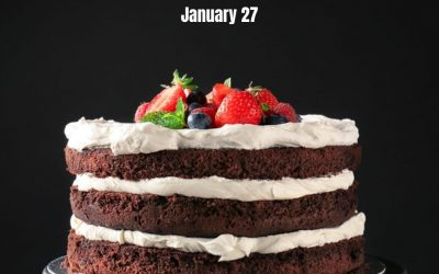 Treat Yourself to a Slice of Chocolate Cake on Jan. 27!