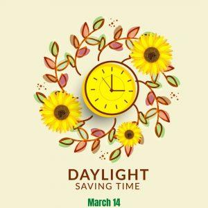 Spring Forward on March 14!