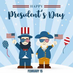 Happy President's Day 2021!