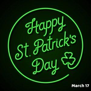 St. Patrick's Day (3.17.21)