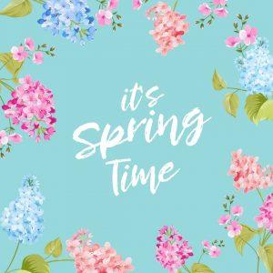 Spring 2021 Begins! (March 20)