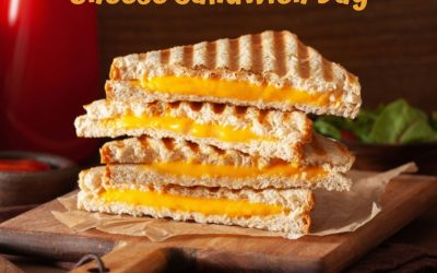 National Grilled Cheese Sandwich Day! (4.12.21)