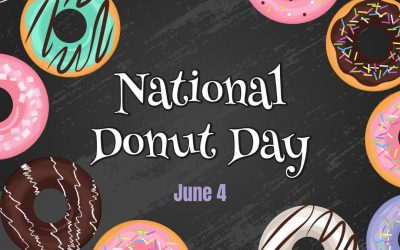 June 4 is National Donut Day 2021!