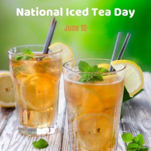 It's Iced Tea Time on June 10!