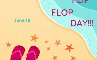 June 18 is National Flip Flop Day 2021!