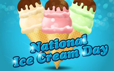 July 18 is National Ice Cream Day 2021!