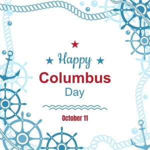 Columbus Day 2021 is Oct. 11