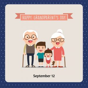 Sept. 12 is Grandparents Day 2021!