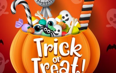 Trick or Treat Time! (Oct. 30)